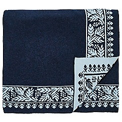 Echo - dark blue 'Jakarta' throw