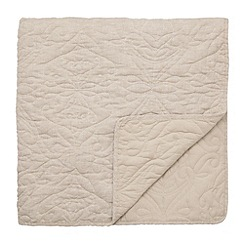 Harlequin - Natural 'Java' quilted throw