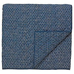 Harlequin - Blue 'Katsure' throw