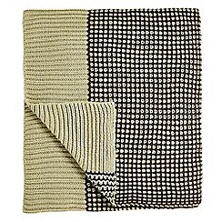 Bedeck 1951 - brown 'Loya' throw