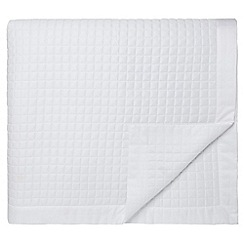 Fable - White 'Merle' throw