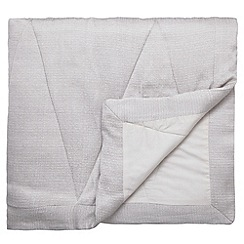 Harlequin - Silver 'Moriko' throw