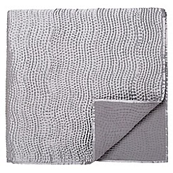 Fable - Silver 'Riviera' throw