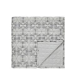 Bedeck 1951 - Grey polycotton 'Soto' bedspread