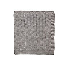 Hotel - Natural acrylic 'Saryn' knitted throw