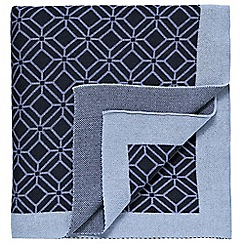 Sanderson - Blue 'Willow Tree' throw