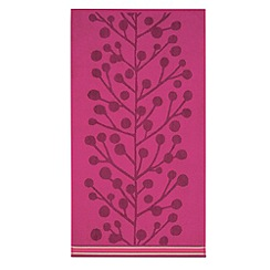 Scion - Cerise 'Berry tree' towels