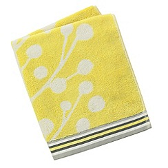Scion - Lime 'Berry tree' towels
