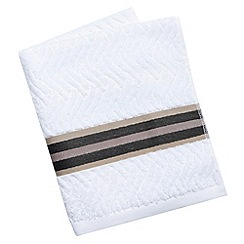 Bedeck - Natural 'Henley' towels