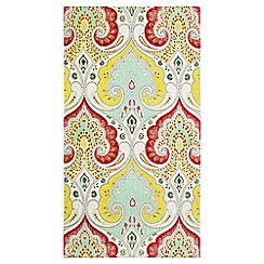 Echo - Multicoloured 'Jaipur' printed towels