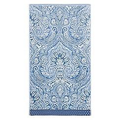 Echo - Dark blue 'Jakarta' woven towels