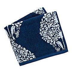 V & A - Blue 'Lerena' towels