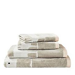 Scion - Pale pink 'MR FOX' towels