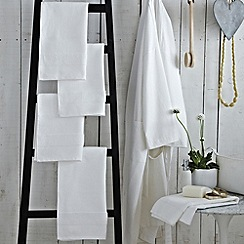 Bedeck - White 'Sanctuary' towels and robes