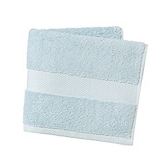 Hotel - Pale blue 'Savoy' towels