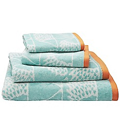 Scion - Aqua 'Spike' towels