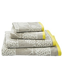 Scion - Grey 'Spike' towels