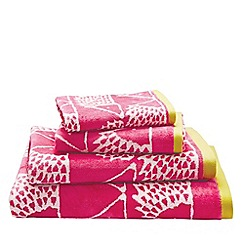 Scion - Pink 'Spike' towels