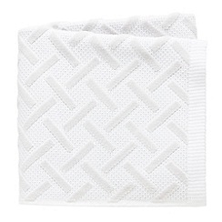 Fable - White 'Vienne' towels