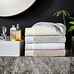 Hotel - White 'Windsor' towels
