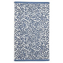 Morris & Co - Light blue 'Willow' towels