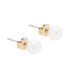 Pure Luxuries London - Gift packaged 6-6.5mm AAA graded akoya pearl earrings