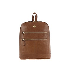 Conkca London - Tan 'Florence' leather small backpack