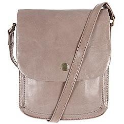 Conkca London - Zinc 'Lucinda' handcrafted waxed leather bag
