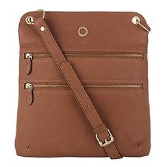 Conkca London - Nut 'Josephine' veg-tanned leather bag