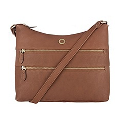 Conkca London - Nut 'Ginny' veg-tanned leather bag