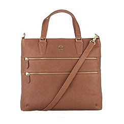 Conkca London - Nut 'Phoebe' veg-tanned leather hand bag