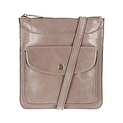 Conkca London - Zinc 'Lilia' handcrafted waxed leather bag