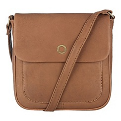 Conkca London - Oak 'Nina' veg-tanned leather across body bag