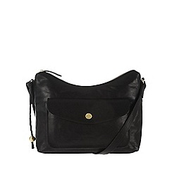 Conkca London - Vintage black 'Angel' tumbled cross-body bag