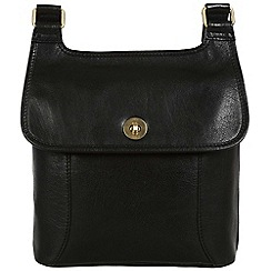 Conkca London - Black 'Molly' leather cross-body bag