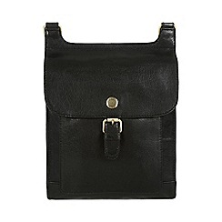 Conkca London - Black 'Seraphina' leather cross-body bag