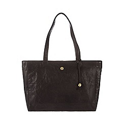 Conkca London - Vintage brown 'Rita' tumbled leather handbag