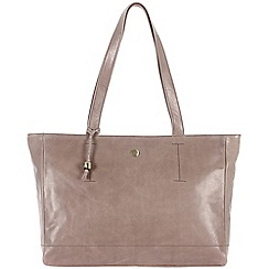 Conkca London - Zinc 'Rita' handcrafted waxed leather bag