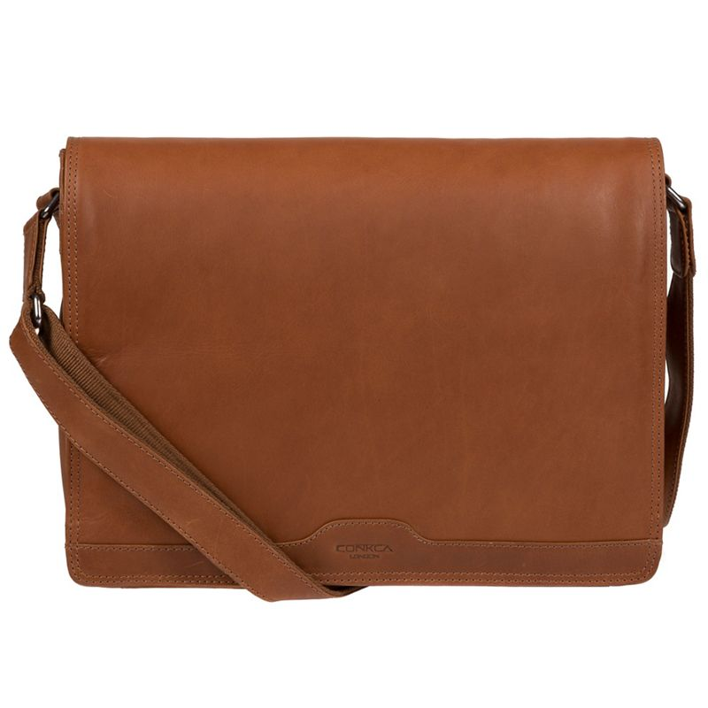 Conkca London - Whiskey Islington Handcrafted Leather