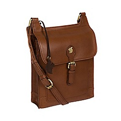 Conkca London - Conker brown 'Sasha' handcrafted leather bag