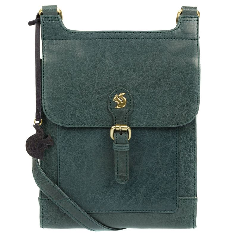 Conkca London - Denima Sasha Handmade Leather Cross-Body Bag