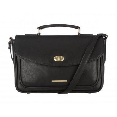 Cultured London Black ´Amber´ small satchel bag - . -