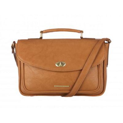 Cultured London Oak ´Amber´ small satchel bag - . -