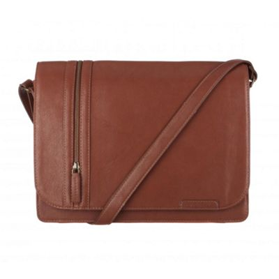 Cultured London Nut ´Rory´ A4 messenger bag - . -