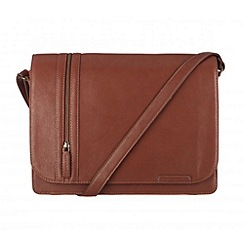 Cultured London - Nut 'Rory' A4 messenger bag