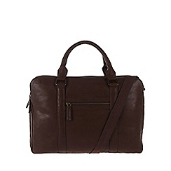 Cultured London - Brown 'Hector' work bag