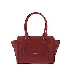 Cultured London - Red 'Hannah' handbag