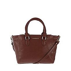 Cultured London - Nut 'Taylor' cross-body handbag