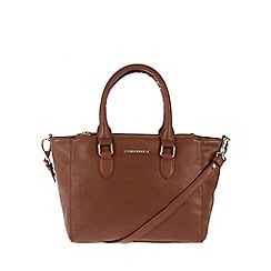 Cultured London - Tan 'Taylor' cross-body handbag