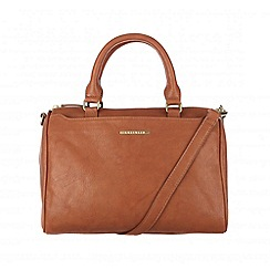Cultured London - Tan 'Katie' cotton-lined hand bag